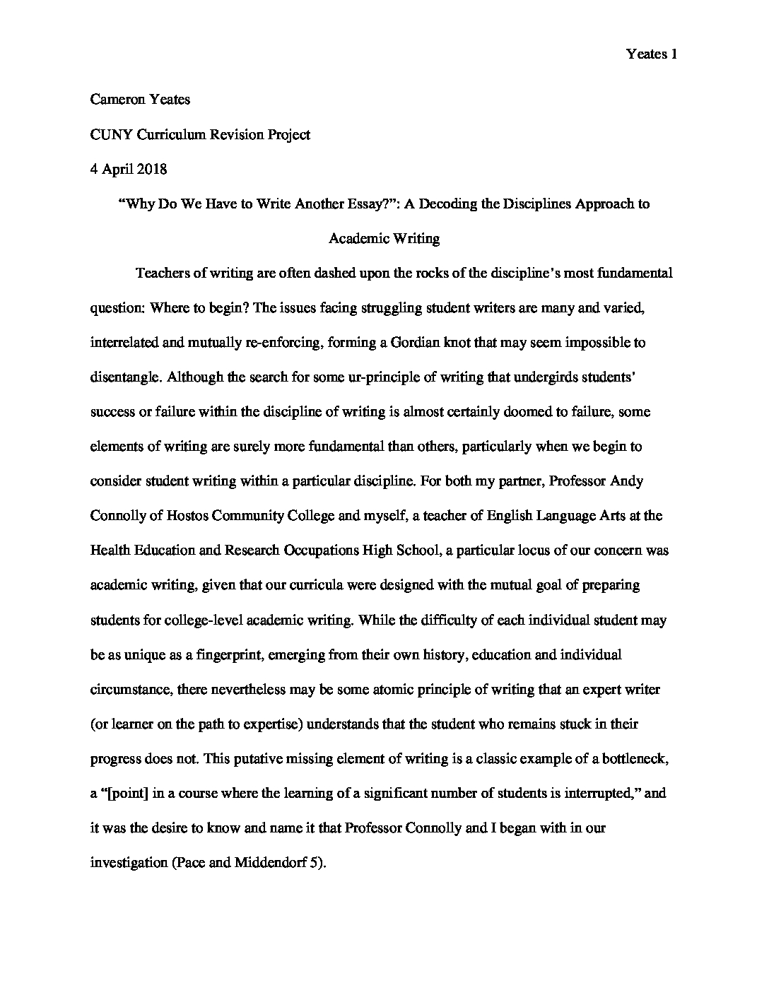 Good exeplification essay examples